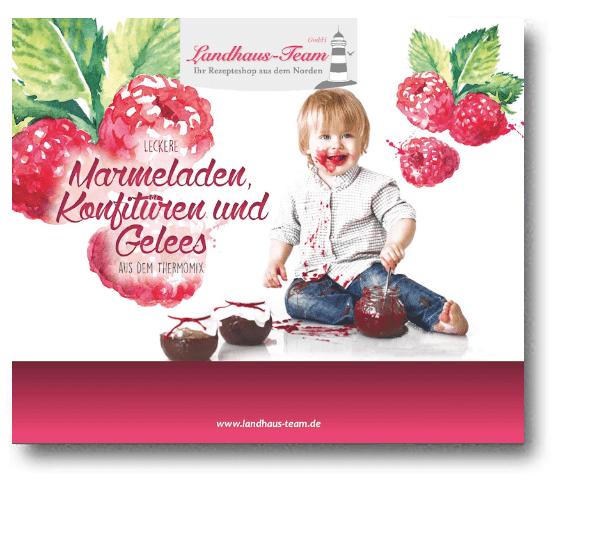 Mängelexemplar - Mini-Fibel - Marmeladen, Konfitüren & Gelees aus dem Thermomix®