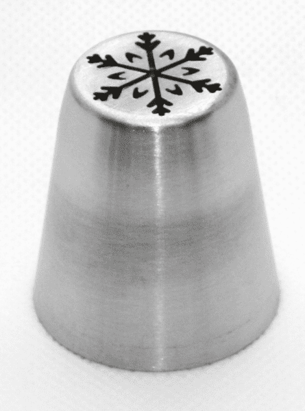 Garniertülle Modell-Schneeflocke l