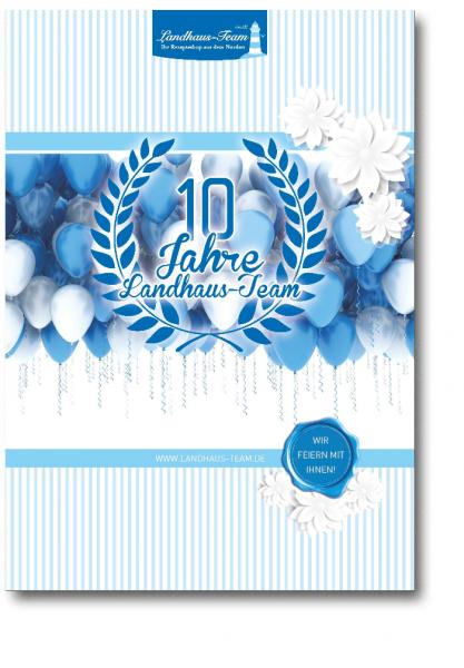 Jubiläums Ausgabe 10 Jahre