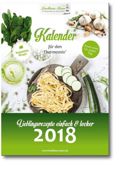 Mängelexemplar - Kalender für den Thermomix® 2018 - Lieblingsrezepte einfach & lecker