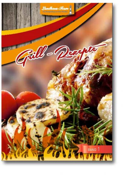 Mängelexemplar - Grill - Rezepte Band 1