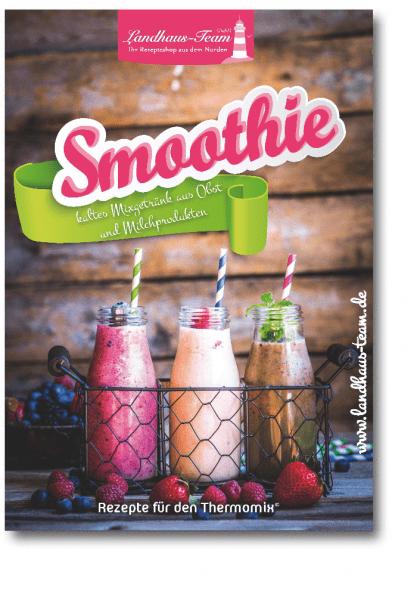 Smoothie - kaltes Mixgetränk aus Obst und Milchprodukten